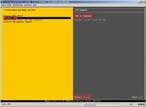 enable ssh