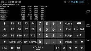 программа для Android Hacker's Keyboard