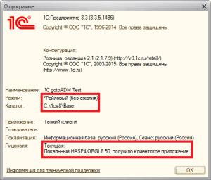 программная HASP лицензия 1С