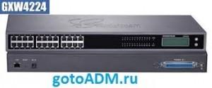 Настройка шлюза IP телефонии Grandstream