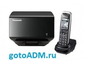 Настройка IP телефона Panasonic KX-TGP500
