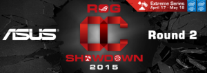 Начало второго раунда ASUS OC Showdown 2015