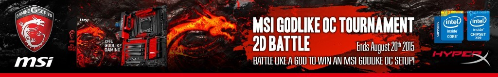 MSI GODLIKE OC Tournament 2015