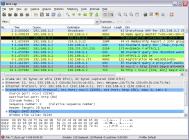 Результат работы программы Wireshark
