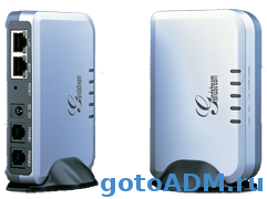 Конфигурация VoIP gateway Grandstream Handytone 502